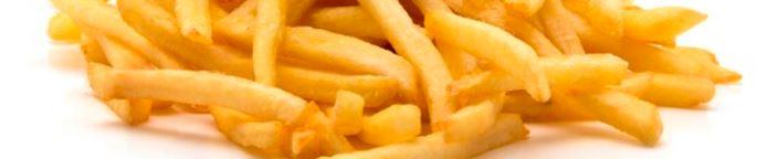 Alimentation déséquilibrée et perte de la vue permanente. Frites, chips, pain blanc