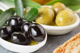 olives noires et verts