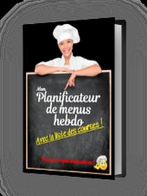 Planificateur de menus et liste de courses